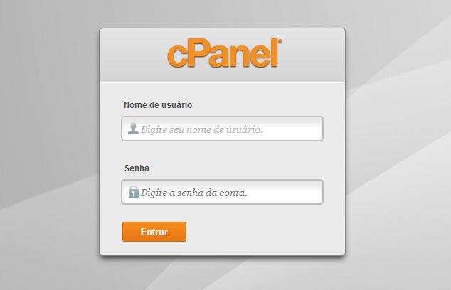 cPanel Entrar1